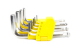 hex key set isolated