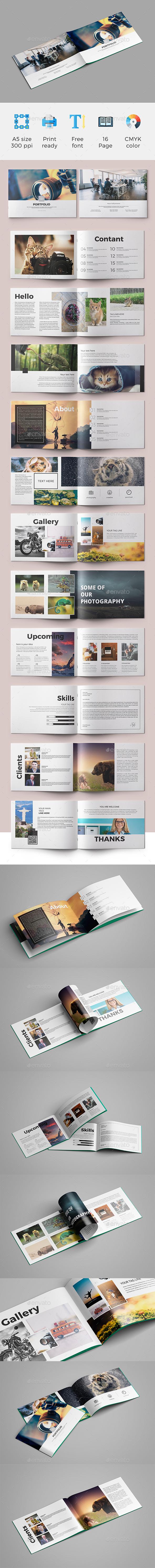 A5 Brochure (Portfolio) 03 - Portfolio Brochures