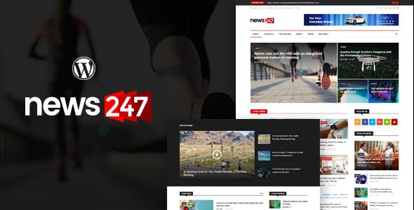 news247 - news magazine wordpress theme (news / editorial) News247 – News Magazine WordPress Theme (News / Editorial) theme preview