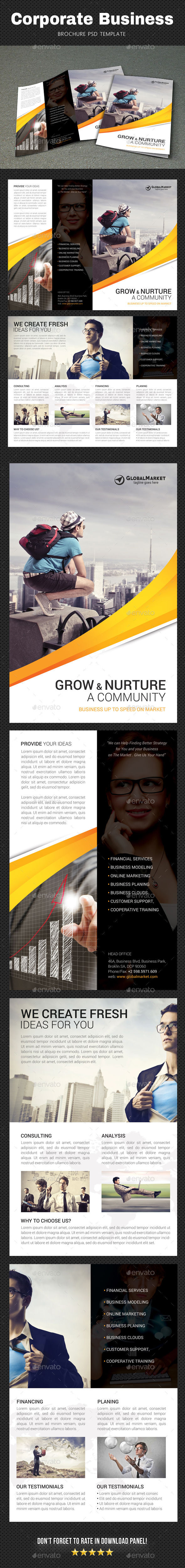 GraphicRiver Corporate Brochure 20687162