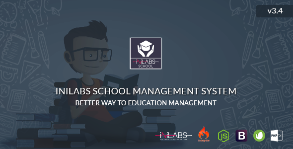 Inilabs School Management System Express - CodeCanyon Item for Sale