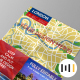 City Tourist Map Mockup