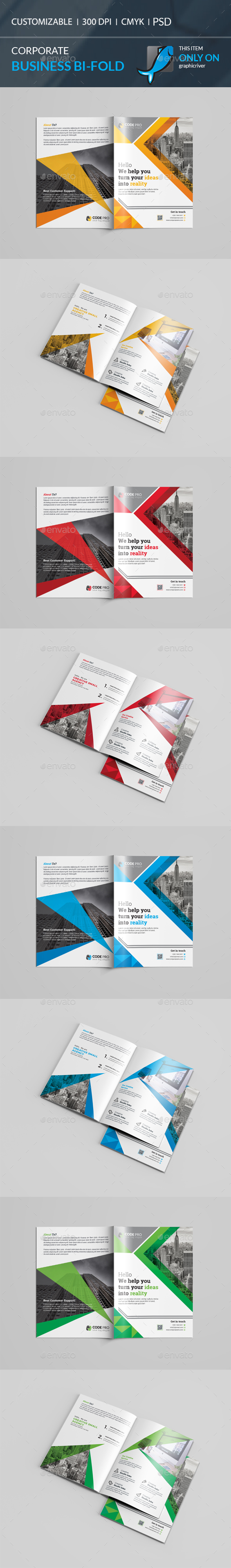 GraphicRiver Bi-Fold Brochure 20687222