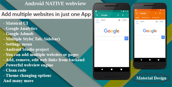 Multi Web App for Android - CodeCanyon Item for Sale