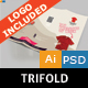 T-Shirt Store Trifold - GraphicRiver Item for Sale