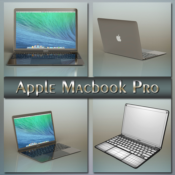 3DOcean Apple macbook pro 20687335