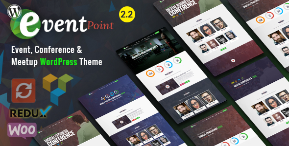Image of Event Point - Event, Conference & Meetup WordPress Theme
