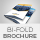 Corporate Bifold Brochure Template 03