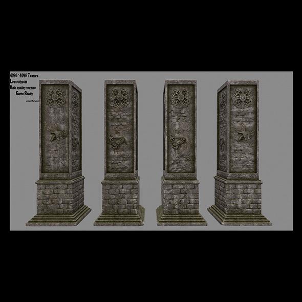 3DOcean pillar 18 20687728
