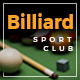 Billiard - Creative Sporting  WordPress Theme - ThemeForest Item for Sale