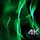 New Green Abstract Particles Loop - VideoHive Item for Sale