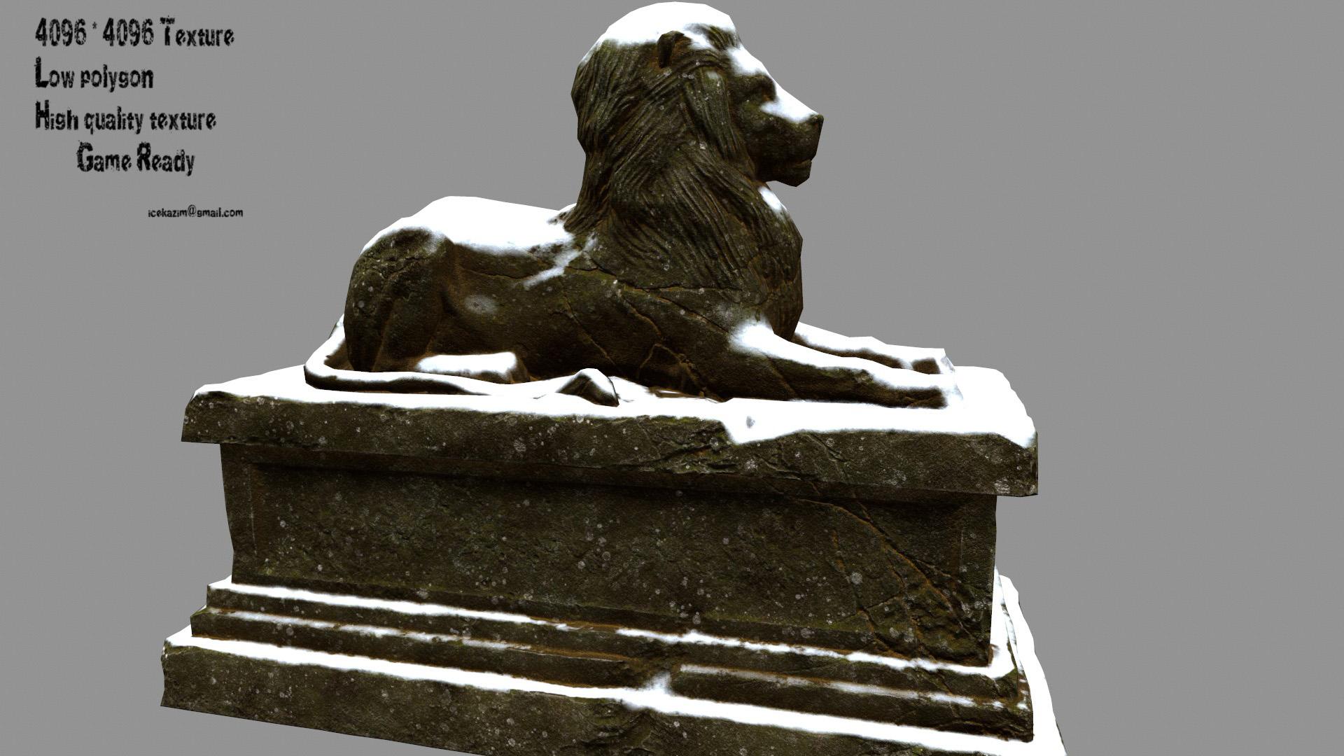 Lion Statue 02
