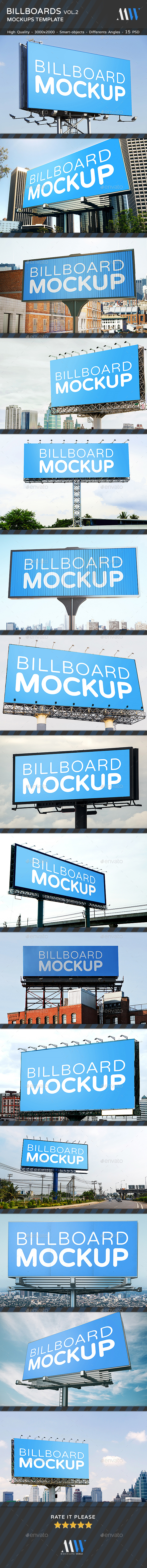 GraphicRiver Billboards Mock-ups Vol.2 20688027