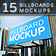 Billboards Mock-ups Vol.2 - GraphicRiver Item for Sale
