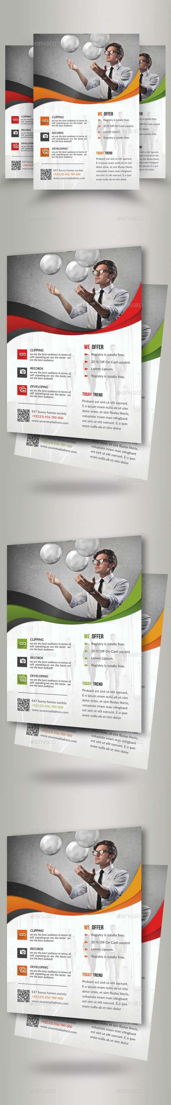 Creative Business Flyers - Corporate Flyers
