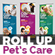 Pets Care Roll-Up Banner