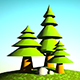 Tree and world - 3DOcean Item for Sale