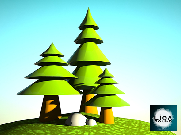 3DOcean Tree and world 20688152