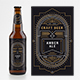 BEER PACKAGING LABEL - Linear Art - GraphicRiver Item for Sale
