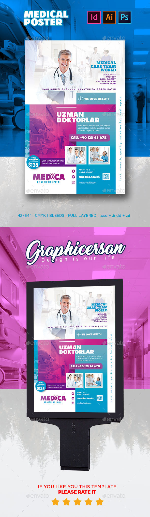 Medical Poster - Signage Print Templates