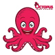 Octopus Mascot Character - GraphicRiver Item for Sale