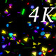 Color Confetti 4K 07 - VideoHive Item for Sale
