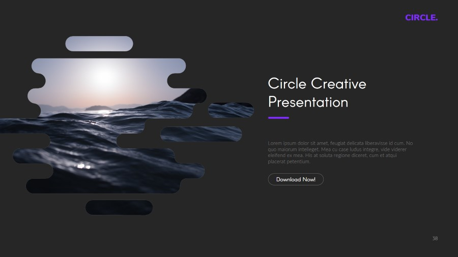 Circle Multipurpose Keynote Template