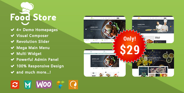 food store - responsive woocommerce wordpress theme (woocommerce) Food Store – Responsive WooCommerce WordPress Theme (WooCommerce) theme preview