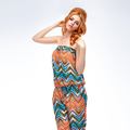 Fashion. Young woman in Summer Colorful Outfit - PhotoDune Item for Sale