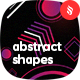 Abstract Different Shapes Backgrounds - GraphicRiver Item for Sale