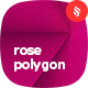 Realistic Rose Polygon Backgrounds - GraphicRiver Item for Sale