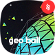 Geometric Ball Backgrounds - GraphicRiver Item for Sale
