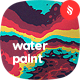Abstract Water Paint Backgrounds - GraphicRiver Item for Sale