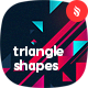 Abstract Triangle Shapes Backgrounds - GraphicRiver Item for Sale
