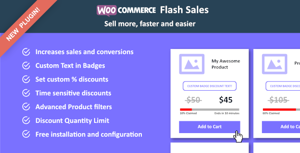 WooCommerce Flash Sales: Pricing & Discount - CodeCanyon Item for Sale