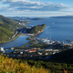 Top Panorama view of Petropavlovsk-Kamchatsky City, Avacha Bay and Pacific Ocean - PhotoDune Item for Sale