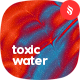 Toxic Water Painting Backgrounds - GraphicRiver Item for Sale
