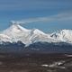 Panorama view of Volcanoes of Kamchatka: Avacha Volcano and Kozelsky Volcano - PhotoDune Item for Sale