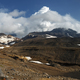 Kamchatka Landscape: Panoramic view of Active Mutnovsky Volcano - PhotoDune Item for Sale
