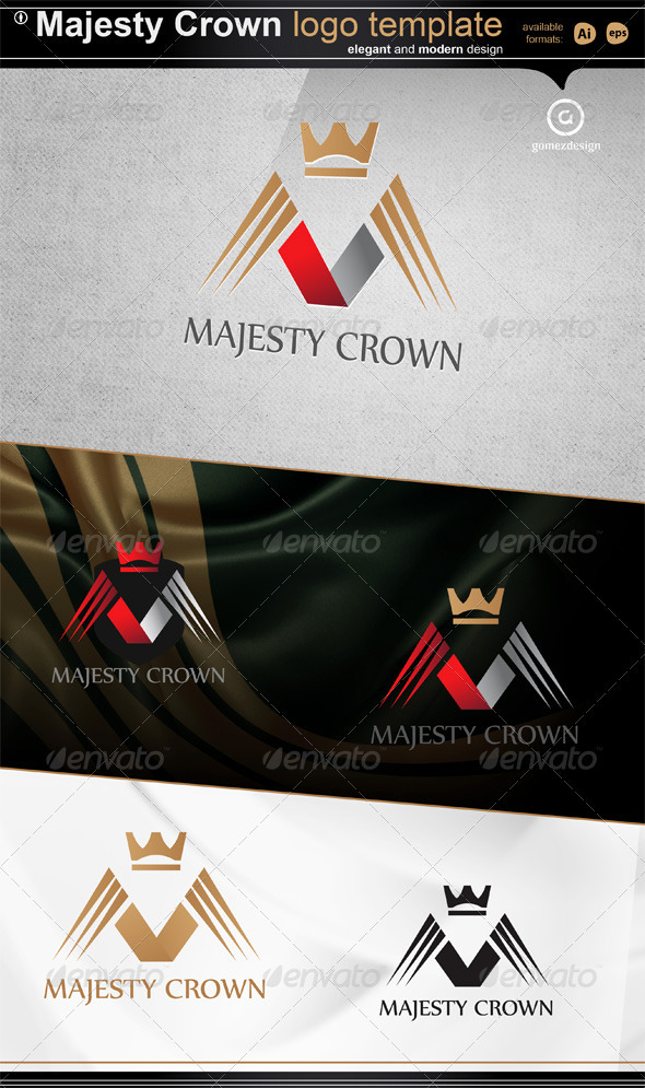 Majesty Crown - Letters Logo Templates