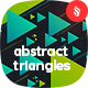 Abstract Flat Triangles Backgrounds - GraphicRiver Item for Sale