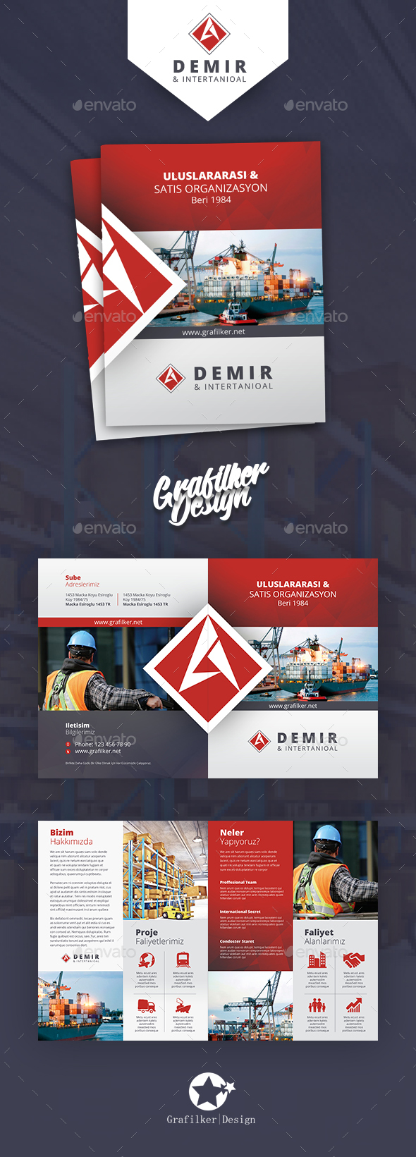GraphicRiver International Brochure Templates 20689222