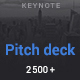 Pitch Deck Minimal Keynote Template - GraphicRiver Item for Sale