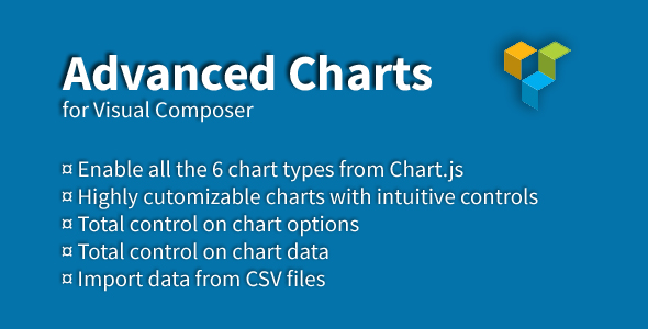 Advanced Charts Add-on for Visual Composer - CodeCanyon Item for Sale
