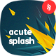Acute Polygonal Splash Backgrounds - GraphicRiver Item for Sale