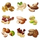Cartoon Healthy Nuts Set - GraphicRiver Item for Sale