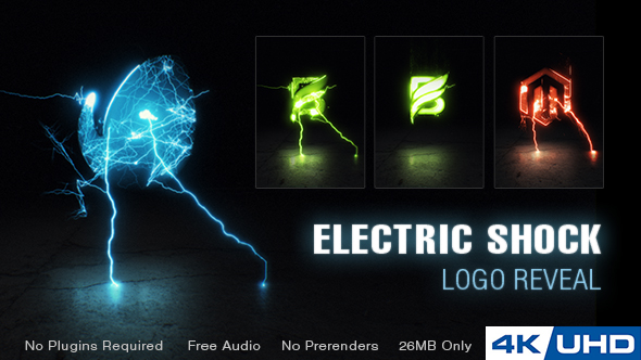 Electric Shock Logo Reveal 20654638