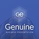 Genuine Business Presentation - GraphicRiver Item for Sale