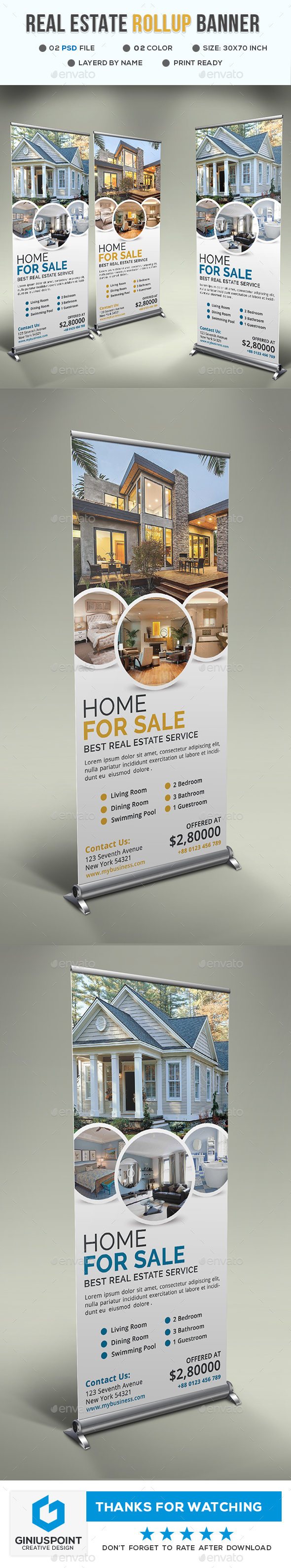 GraphicRiver Real Estate Roll-Up 20674836