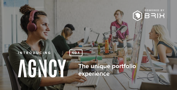 Agncy - Creative & Modern Portfolio WordPress Theme